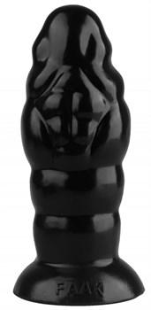 Черная фантазийная пробка - 18,5 см.