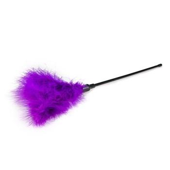 Фиолетовая щекоталка Feather Tickler - 44 см.