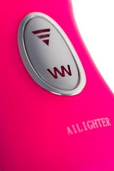 Реалистичный вибратор Ailighter Telescopic Lover с пультом ДУ - 27,1 см.