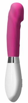 Розовый вибратор Asopus - 21 см.