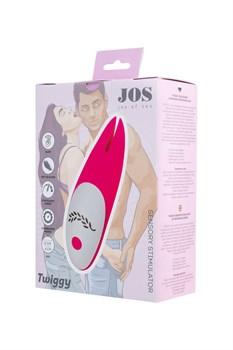 Розовый вибромассажер JOS Twiggy