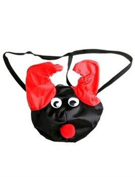 Черно-красные шаловливые мужские трусы «Дьявол»