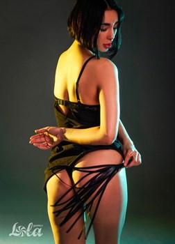Черная плеть Rebel - 49 см.
