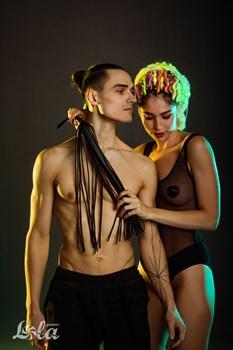 Черная плеть Temptation - 45 см.