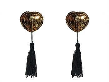 Золотистые пэстисы Gipsy с черными кисточками