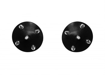 Черные пэстисы с шипами Royce