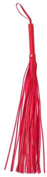 Красная плеть Party Hard Risque - 63,5 см.