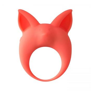 Оранжевое эрекционное кольцо Kitten Kyle