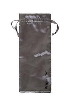 Телесный безремневой вибрострапон Silicone Bendable Strap-On M