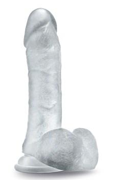 Прозрачный фаллоимитатор Sweet n Hard 2 - 20,3 см.
