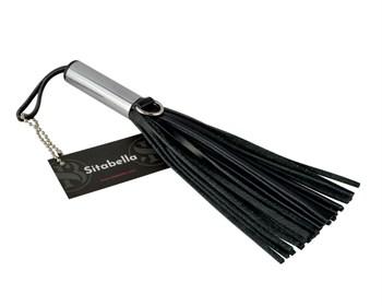 Черный кистевой мини-флогер - 19 см.