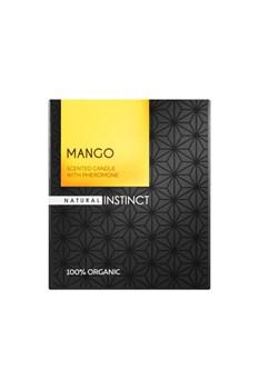 Ароматическая свеча с феромонами Natural Instinct  Манго  - 180 гр.