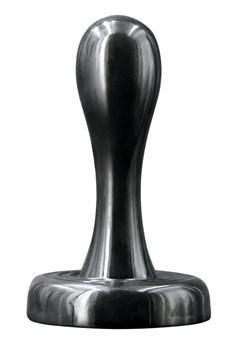 Черная анальная пробка Bowler Plug SM - 8,4 см.