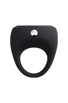 Черное эрекционное виброкольцо Erotist Cosm