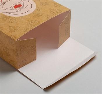 Складная коробка  С любовью  - 16 х 23 см.