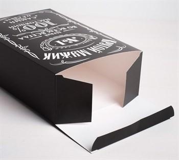 Складная коробка  Крутой мужик  - 16 х 23 см.