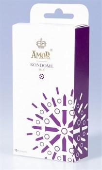 Микс-набор презервативов AMOR Mix - 15 шт.
