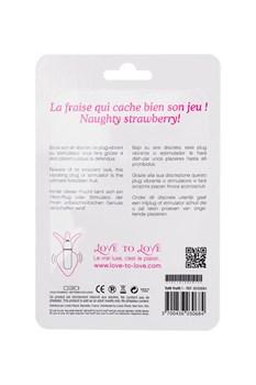 Анальная пробка-ягодка Tutti Frutti - 8,5 см.