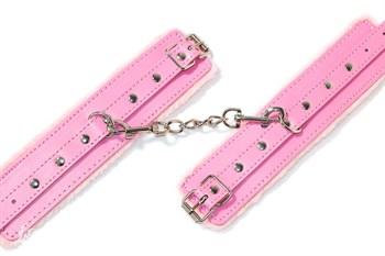 Розовые наручники Calm