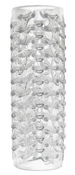 Прозрачная насадка Pleasure Sleeve - 13,4 см.