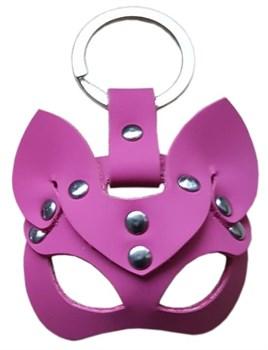 Розовый сувенир-брелок  Кошка