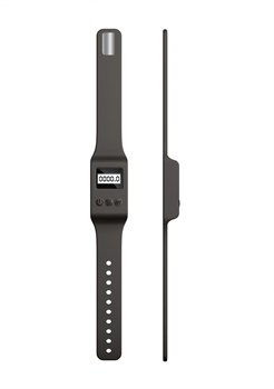 Черный вибромассажер Kegel Wand - 18,5 см.