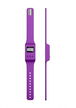 Фиолетовый вибромассажер Kegel Wand - 18,5 см.