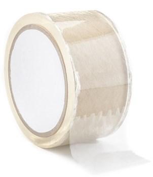 Прозрачная скотч-лента для бондажа Bondage Tape - 20 м.