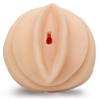 Телесный мастурбатор-вагина с узеньким входом