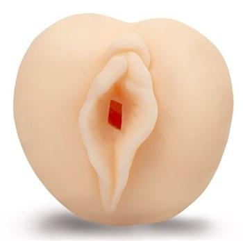 Нежный телесный реалистичный мастурбатор-вагина