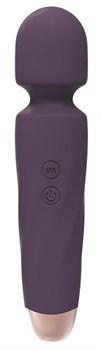 Фиолетовый вибромассажёр NOMIA - 19,5 см.