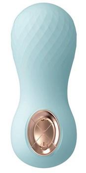 Голубой клиторальный стимулятор SOLENE