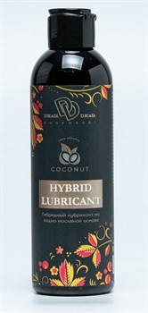 Гибридный лубрикант HYBRID LUBRICANT с добавлением кокосового масла - 200 мл.