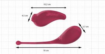 Двойной набор Inspiration: виброяйцо и клиторальный стимулятор