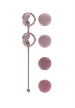 Набор из 4 розовых вагинальных шариков Valkyrie
