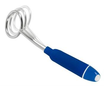 Синяя петля-стимулятор головки Glans Stimulation Loop - 19,1 см.