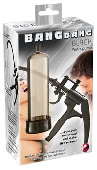 Черная вакуумная помпа Bang Bang