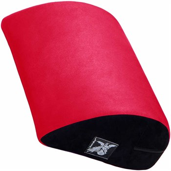 Бордовая замшевая подушка для любви Liberator Retail Jaz Motion