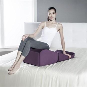 Фиолетовая вельветовая подушка для секса Liberator Retail Flip Ramp