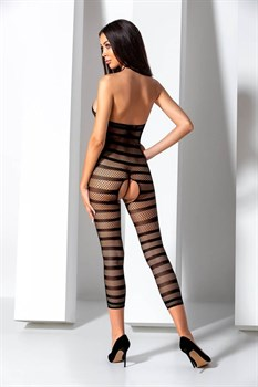 Стильный комбинезон с укороченными штанинами