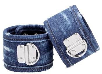 Синие джинсовые наножники Roughend Denim Style