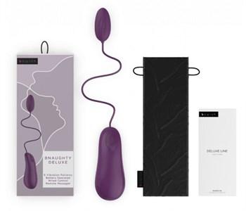 Фиолетовое виброяйцо Bnaughty Deluxe