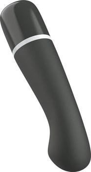 Черный G-вибростимулятор Bdesired Deluxe Curve - 15,2 см.