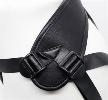 Пояс харнесс BEST UNI strap с 2 насадками - 18 и 22 см.