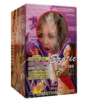 Надувная кукла BIG TITS DOLL с 2 любовными отверстиями