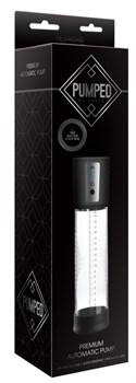 Автоматическая прозрачная вакуумная помпа Premium Automatic Pump