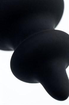 Черная анальная ёлочка Indi - 11,5 см.