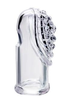 Комплект из 2 прозрачных насадок на палец Favi