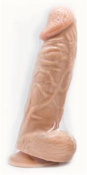 Пояс-трусики с реалистичной насадкой - 20,5 см.