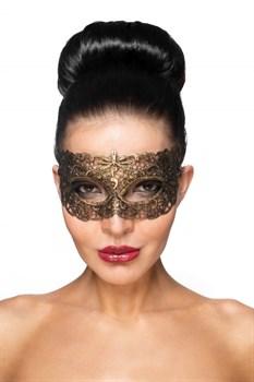 Золотистая карнавальная маска  Альтаир